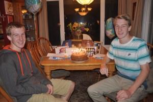 My twins on their 16th birthday