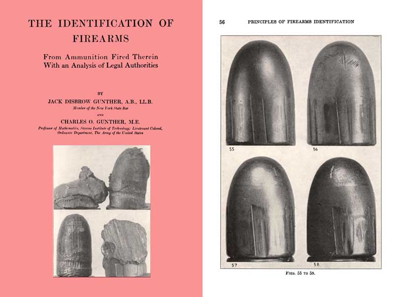 Cornell Publications -Identification of Firearms 1935 by Gunther