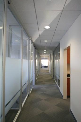 Glass Hallway