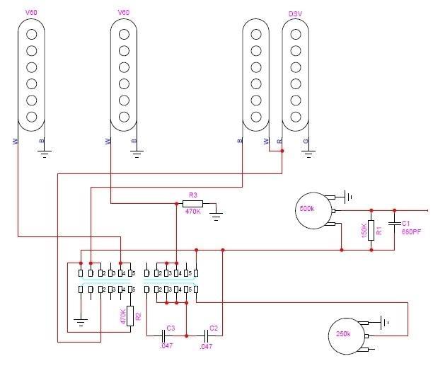 new wiring with fralin unbucker