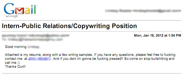 Possibly The Worst Cover Letter Ever (Must See) Corn on the Job