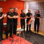 estudio atmosfera rec andujar - vivir mi vida cover flamenca - coro rociero la borriquita - making off videoclip (11)