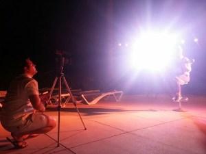 Making of La Mordidita Ricky Martin cover - Coro Rociero de La Borriquita (4)