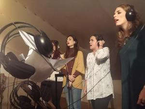 grabacion estudios mrs martin recording studios los palacios sevilla - disco siguiendo una estrella volumen 2 - sonografic - coro rociero de la borriquita montor (3)