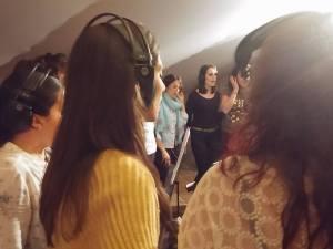 grabacion estudios mrs martin recording studios los palacios sevilla - disco siguiendo una estrella volumen 2 - sonografic - coro rociero de la borriquita montor (7)