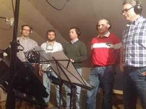 grabacion estudios mrs martin recording studios los palacios sevilla - disco siguiendo una estrella volumen 2 - sonografic - coro rociero de la borriquita montoro (1)