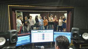 """Crónica de la grabación en estudio de """"Mañanas de primavera"""""""