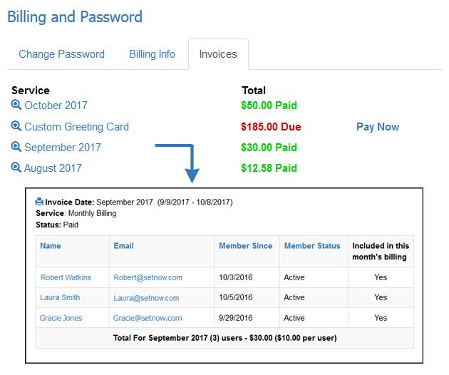 Tutorials - Multi-User Administrators Billing and Invoices