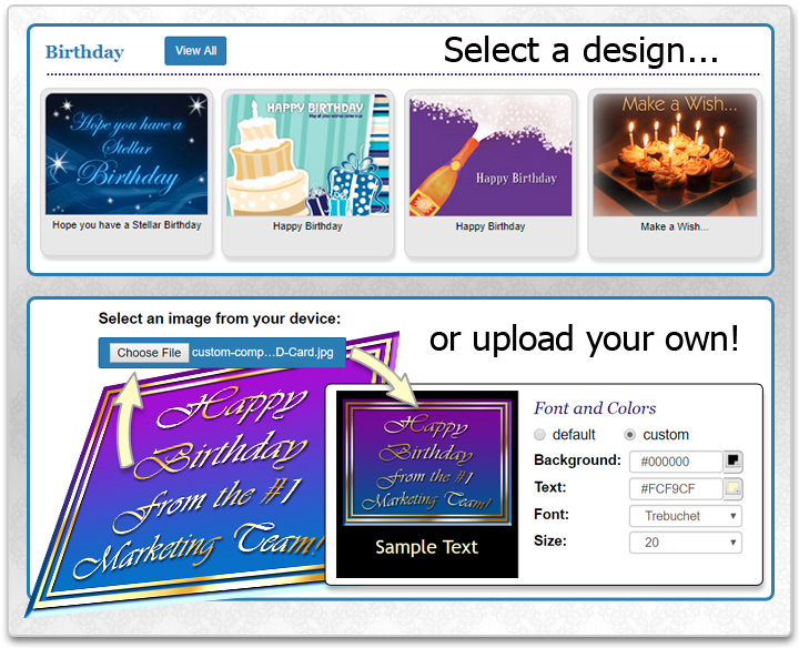 Business eCards Online Greeting Cards Invitations Surveys