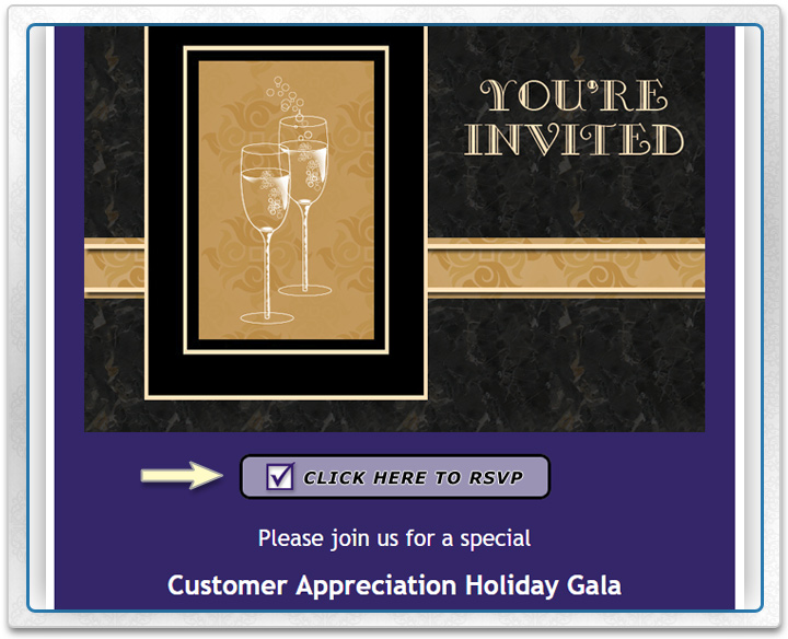 Online Invitations with Real-Time RSVP Tracking Business Events