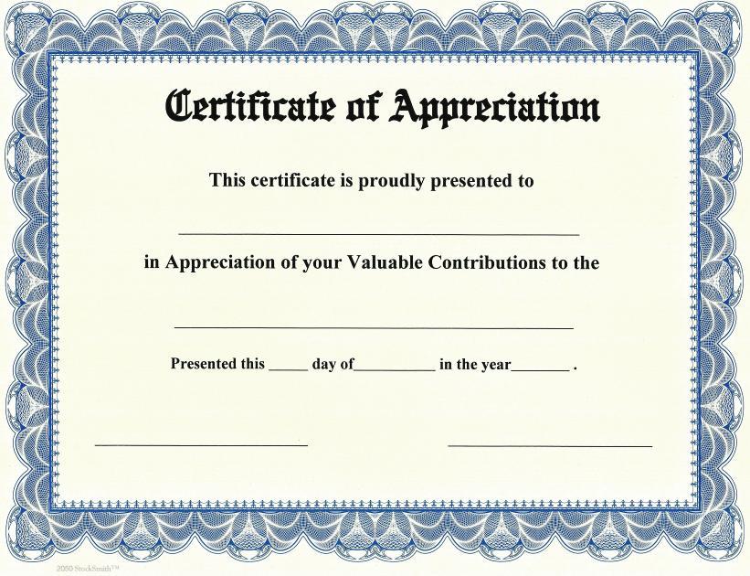 certificate of appreciation border - Josemulinohouse - certificate of appreciation
