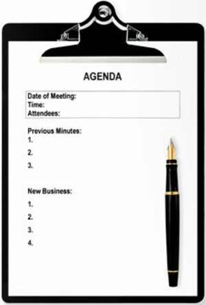 How an effective program agenda can make or break your next event - how to create a agenda