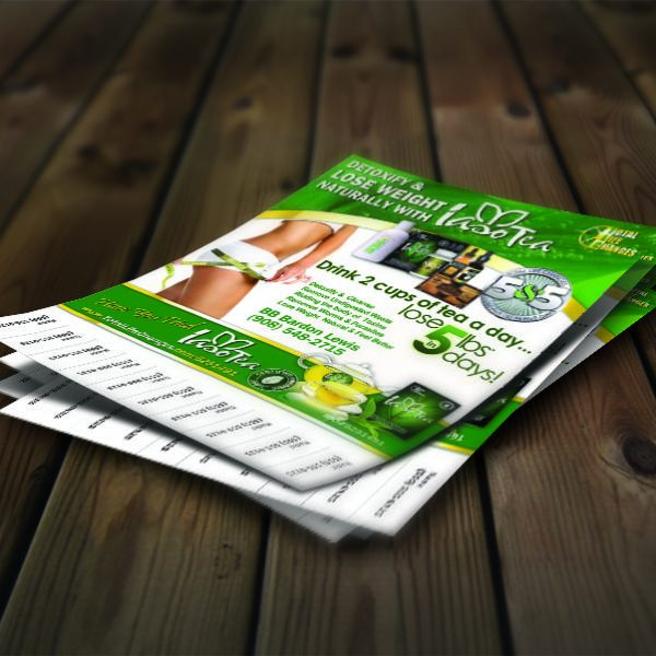 pull tab flyer template