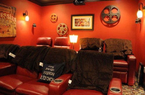 Medium Of Home Theater Decor