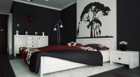 Red Bedroom Wall Painting Ideas | www.indiepedia.org