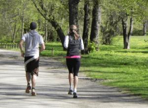 correr no parque