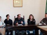 Il sindaco Parodi insieme agli assessori