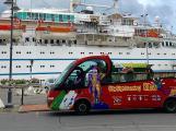 Il bus rosso all'Elba