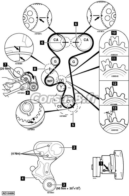 schema moteur nissan micra