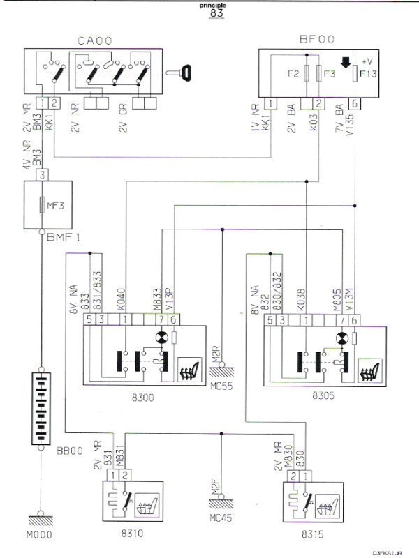 opel corsa c 2005 fuse box diagram