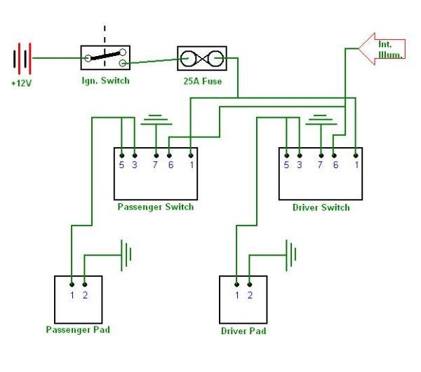 heated seat wiring diagram saab seat wiring diagram images tahoe