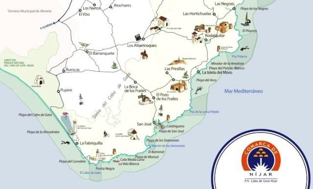 Mapa San José