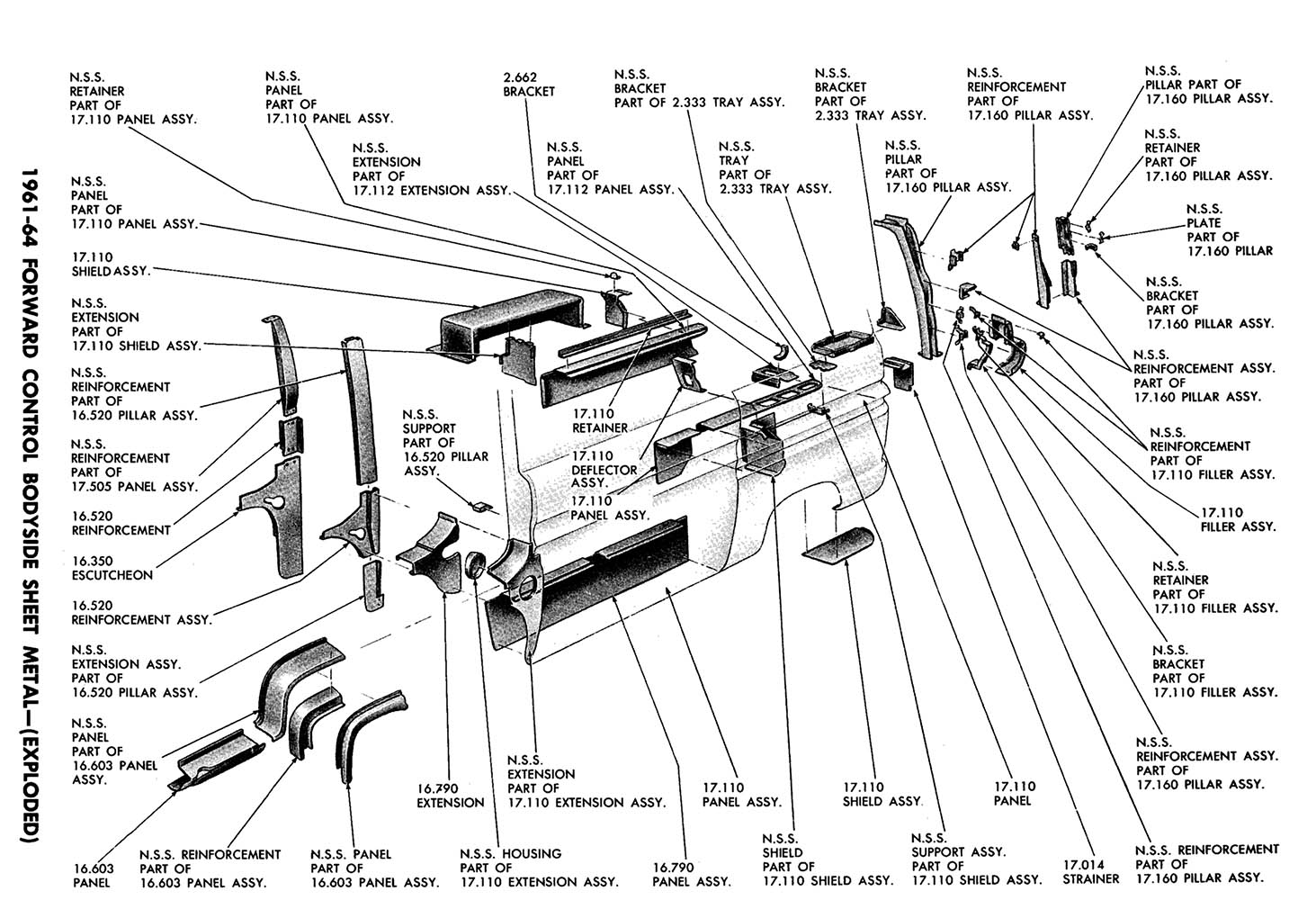 corvair engine exploded diagram
