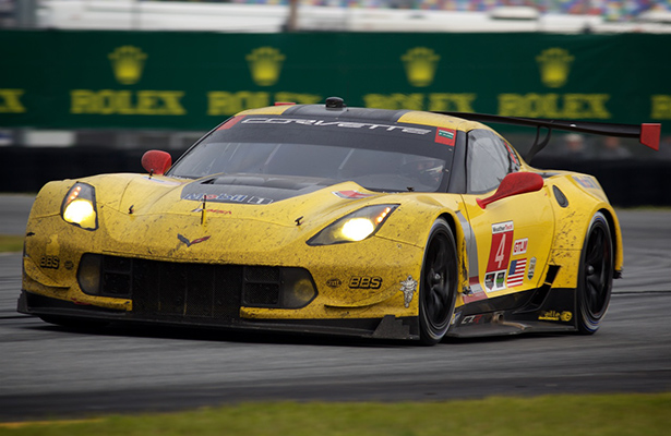 Corvette Races to Victory in 1-2 Photo Finish at Rolex 24 - Photo by John Dagys