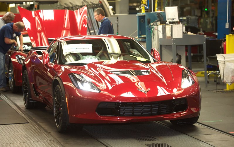 Corvette Sales Slow Down for the First Month of 2016