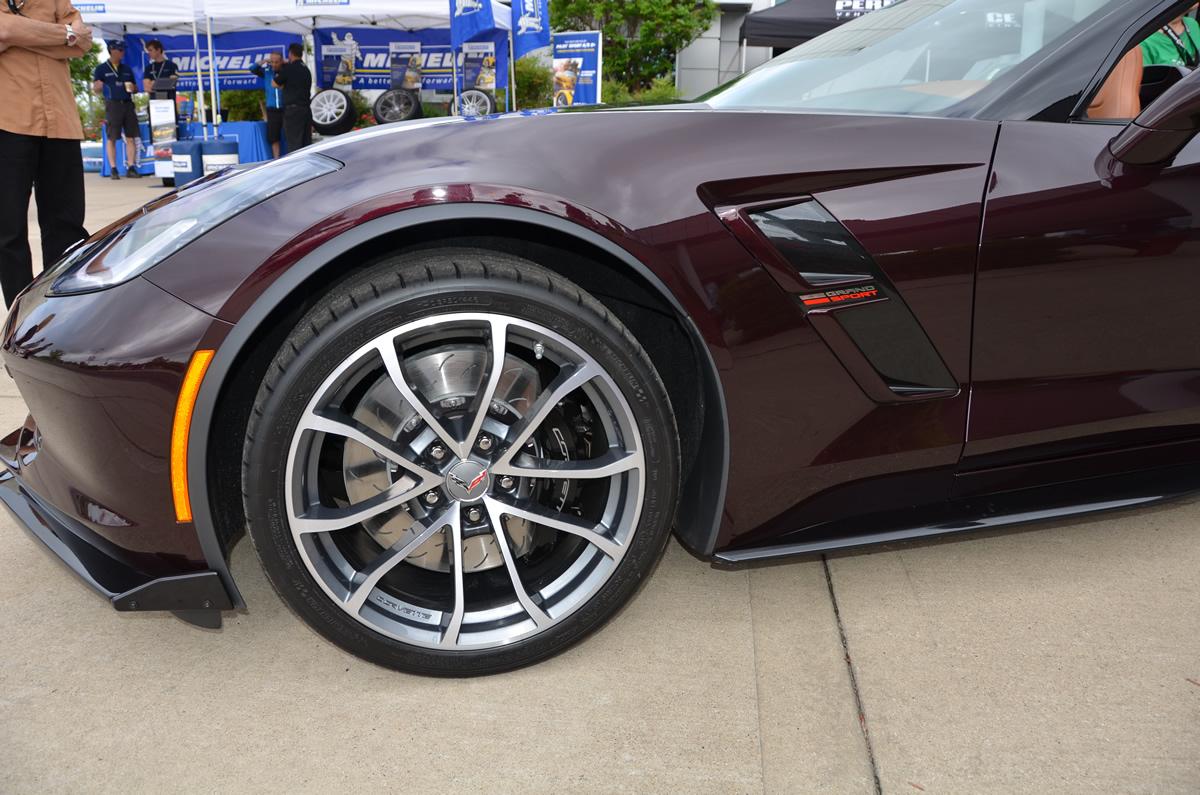 2017 Corvette Grand Sport in Black Rose Metallic