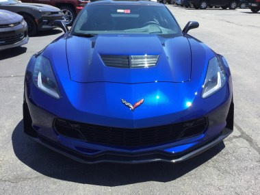 2016 Corvette Production Numbers – Admiral Blue comes in as the rarest color for the year.