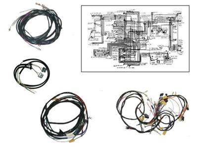 56 Wire Harness Kit - Automatic Transmission Corvette Central