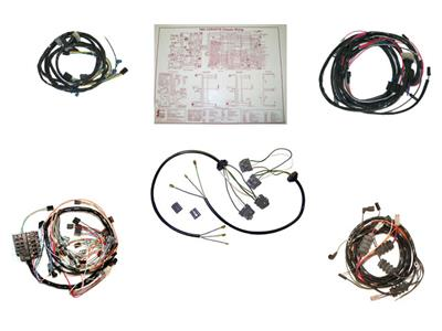 63 Wire Harness Kit - Coupe / Convertible Manual Without Back Up