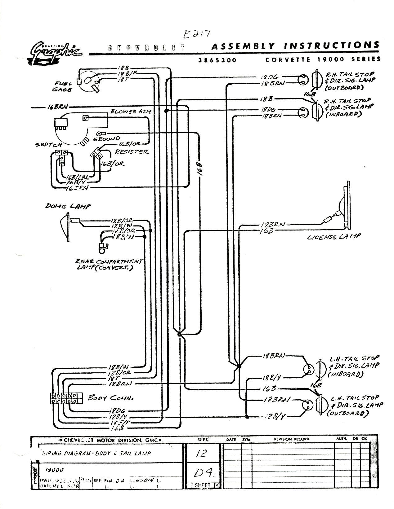 c3 corvette turn signal wiring diagram