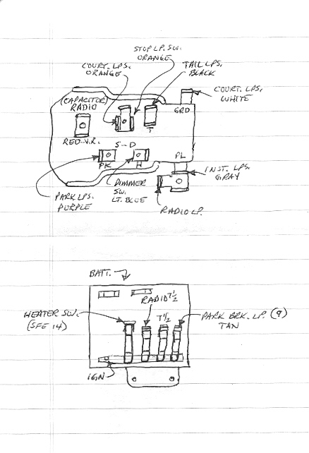 1957 Corvette Fuse Box - Wiring Diagram Progresif
