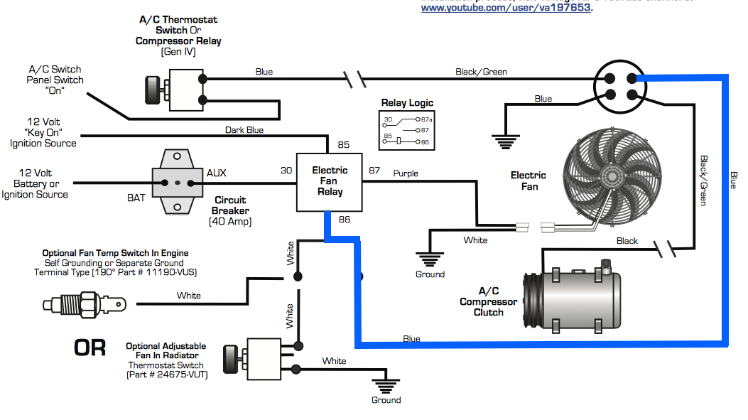 automotive relay switch wiring diagram