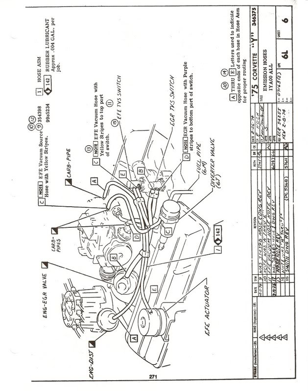 1973 corvette engine vacuum hose diagram