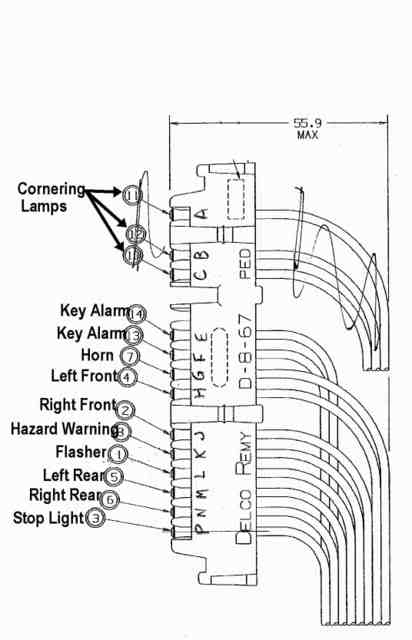 horn wiring from steering column corvetteforum chevrolet corvette