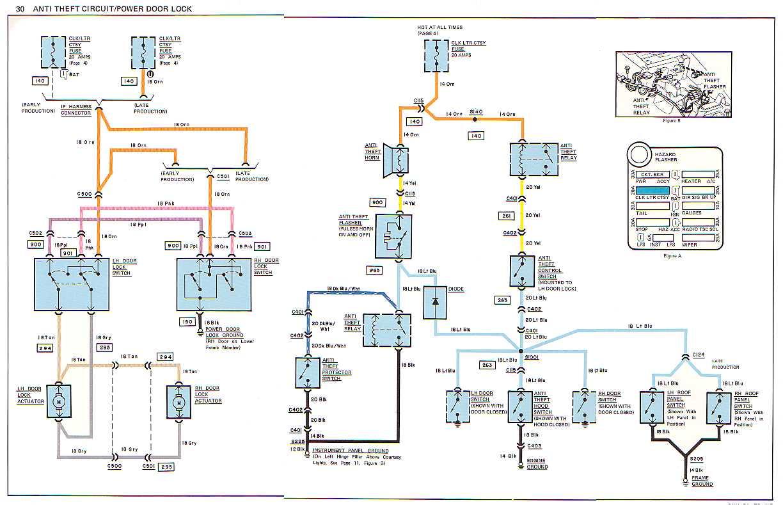 1978 corvette starter wiring diagram