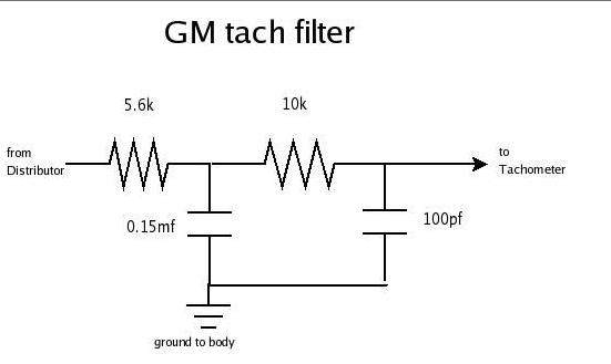 1975 corvette tachometer wiring schematic