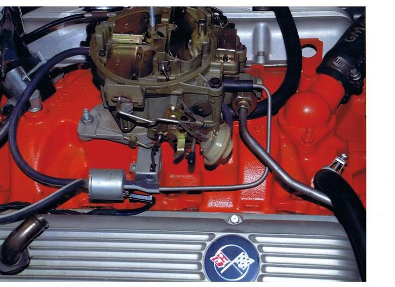 Quadrajet Vacuum connections - CorvetteForum - Chevrolet Corvette