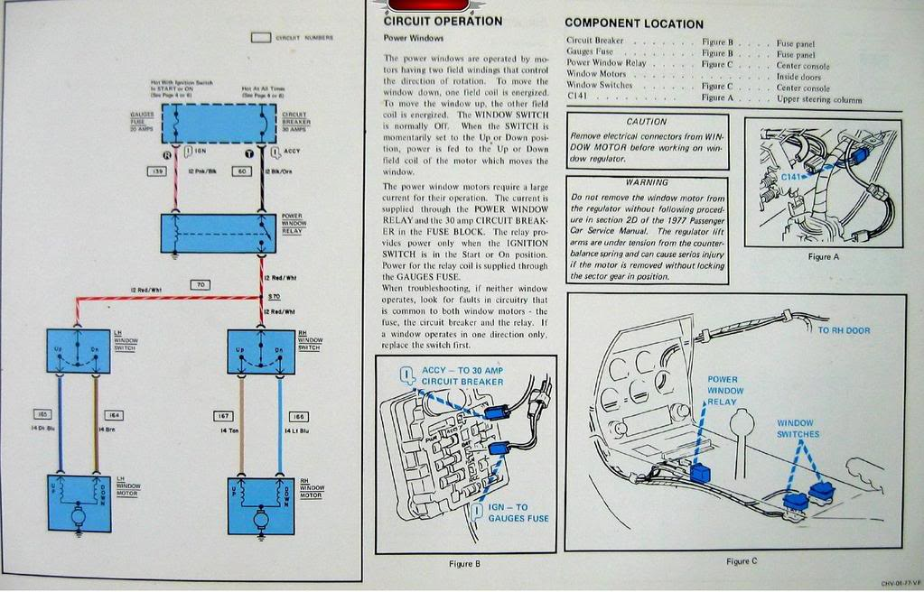 1976 Corvette Fuse Box Wiring Schematic Diagram