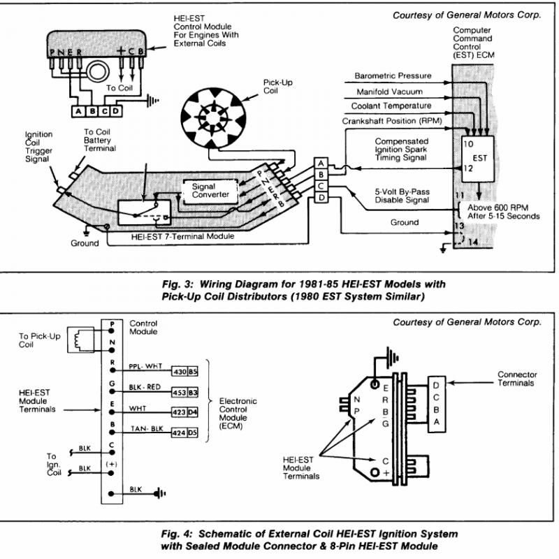 Distributor Coil Tach Wire As Well Gm Hei Distributor Wiring Diagram