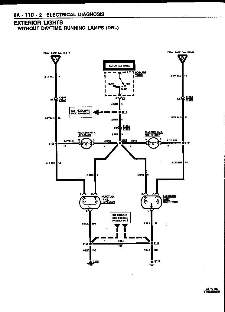 chevrolet headlight switch wiring diagram