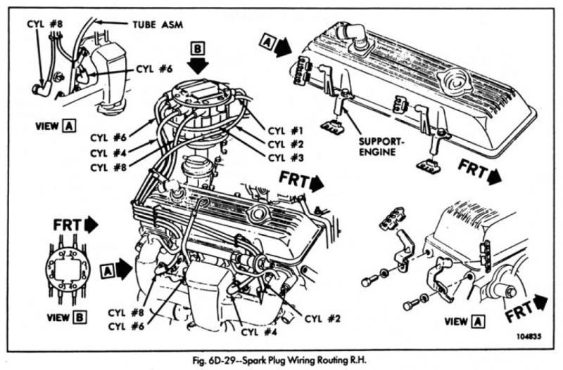 1985 corvette spark plug wire diagram
