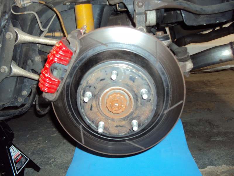 Complete C4 C6z06 Brake Conversion How To And Pics