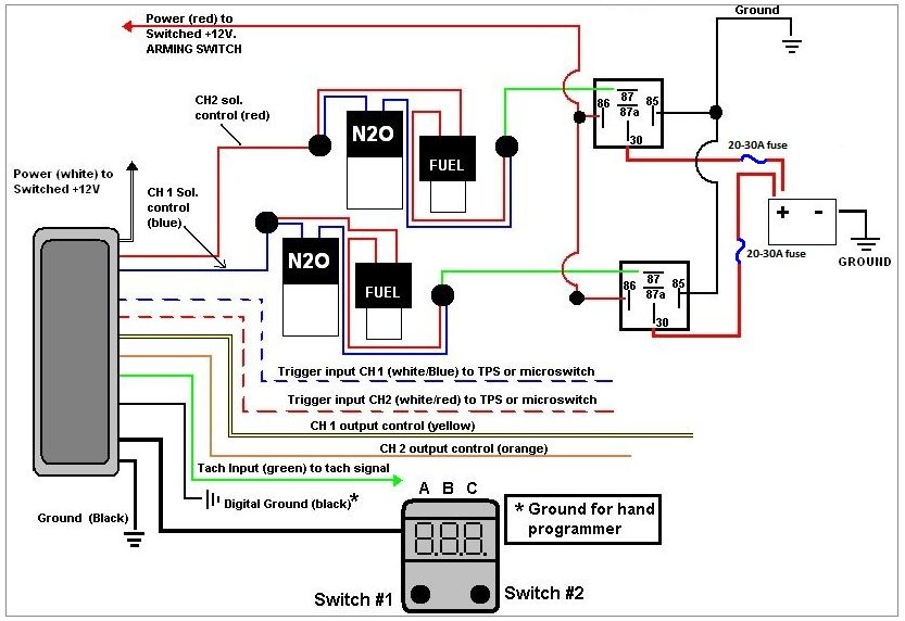 2 Stage Nitrous Wiring Diagram - Auto Electrical Wiring Diagram on sincgars radio configurations diagrams, series and parallel circuits diagrams, smart car diagrams, gmc fuse box diagrams, pinout diagrams, troubleshooting diagrams, friendship bracelet diagrams, lighting diagrams, electrical diagrams, transformer diagrams, internet of things diagrams, switch diagrams, battery diagrams, motor diagrams, snatch block diagrams, hvac diagrams, honda motorcycle repair diagrams, electronic circuit diagrams, engine diagrams, led circuit diagrams,