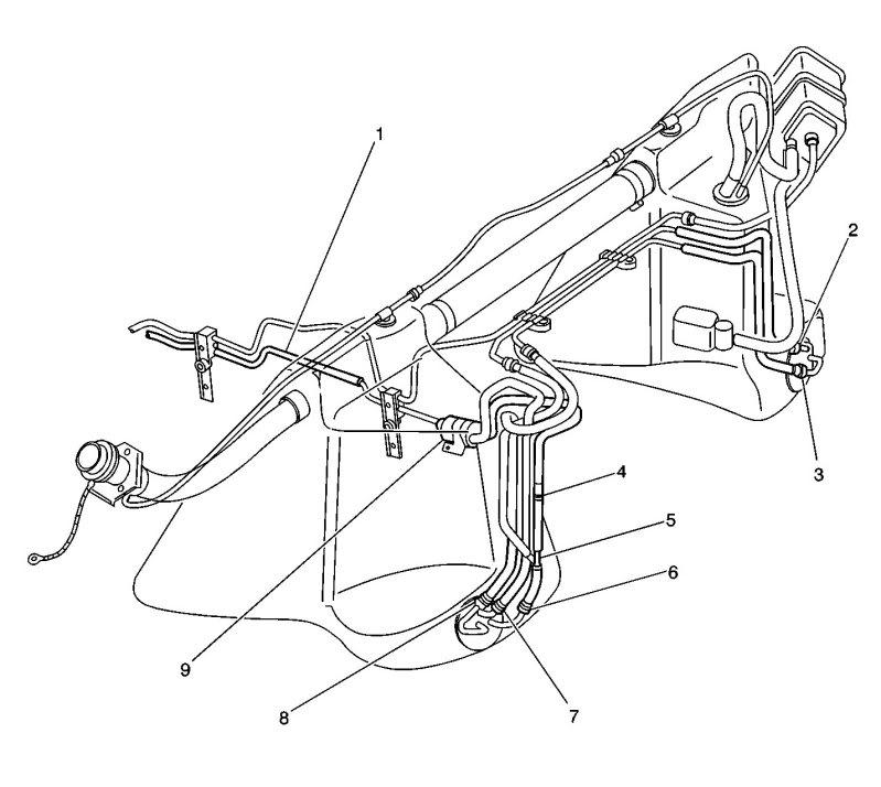 c5 corvette fuel tank diagram
