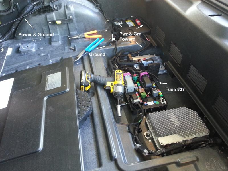 c7 corvette fuse box access