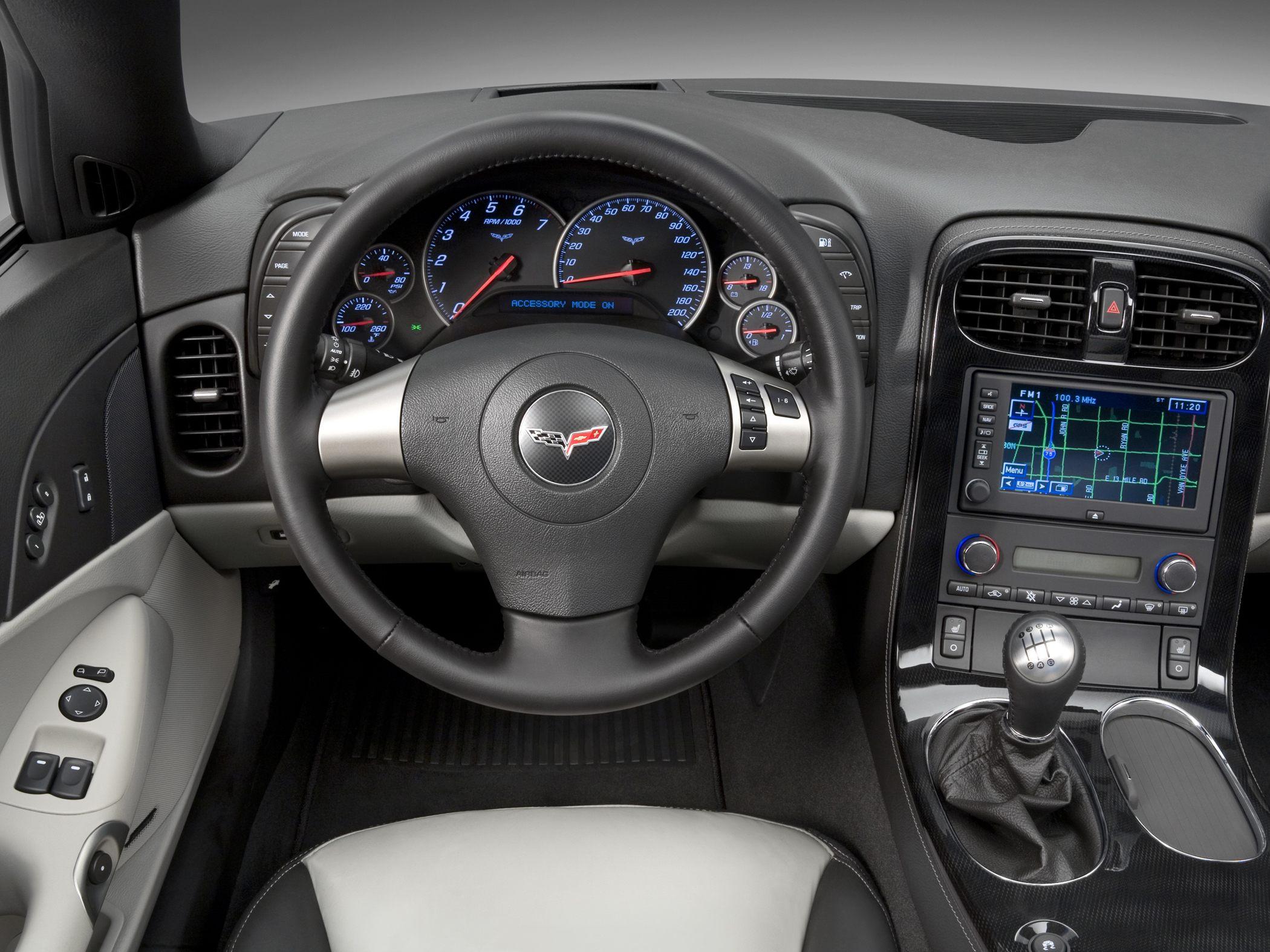 c6 corvette specifications